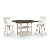 Razo 3 - Piece Counter Height Extendable Dining Set by Gracie Oaks