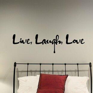 Delray Graffiti Live Laugh Love Wall Decal