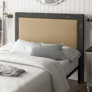 Castagnier Upholstered Panel headboard by Lark Manor