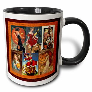 Sexy Ladies of Halloween Collage Coffee Mug