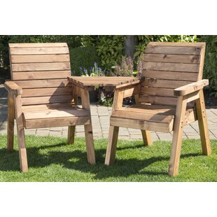 Twin Wooden Love Seat By Sol 72 Outdoor