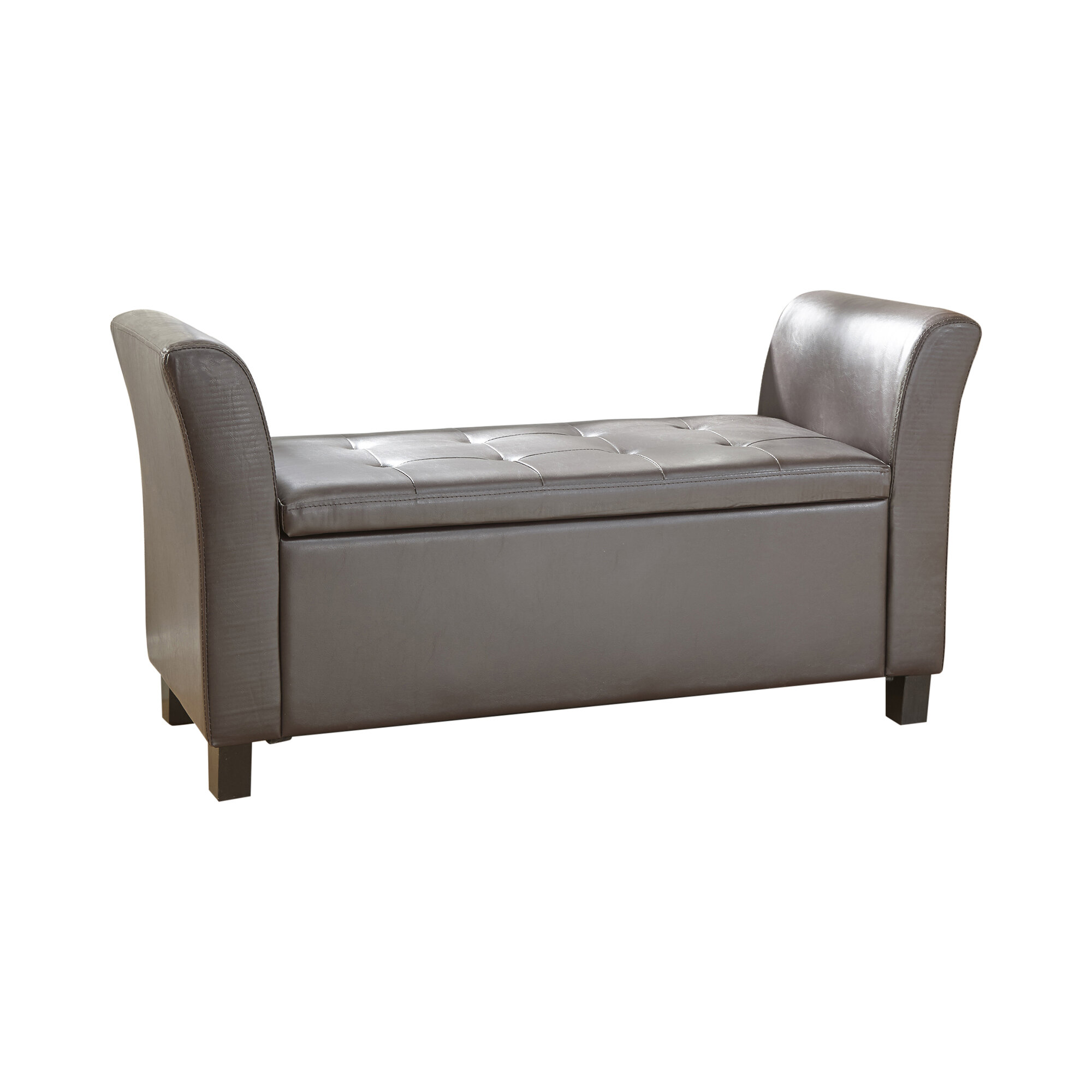 Andover Mills Clarissa Upholstered Storage Bedroom Bench & Reviews -