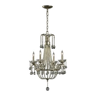 Genevieve 4-Light Empire Chandelier by Cyan Design