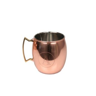 Fabiola Moscow Mule 16 oz. Stainless Steel Mugs