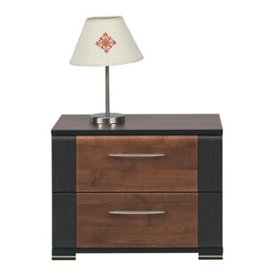 Amando 2 Drawer Bedside Table By 17 Stories