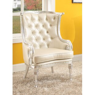 Pawnee Wingback Chair by AampJ Homes Studio