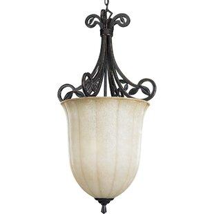 Alcott Hill Triplehorn 3-Light Urn Pendant