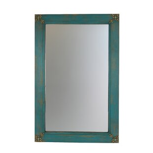 Flores Rectangle Concho Cross Vanity Wall Mirror By Bloomsbury Market