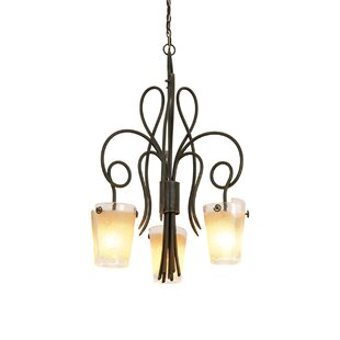 Kalco Tribecca 3-Light Shaded Chandelier