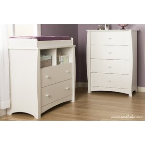 Beehive 4 Drawer Chest And Changing Table