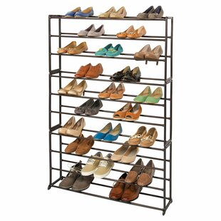 Great Price 50 Pair Shoe Rack By Richards Homewares