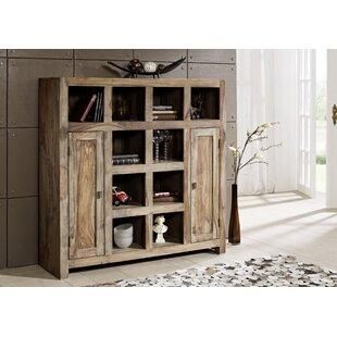 Nature Bookcase By Massivmoebel24