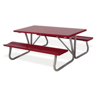 Red Picnic Tables Youu0027ll Love   Wayfair