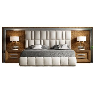 Latest Price Gracie Oaks Gutshall Platform 5 Piece Bedroom Set