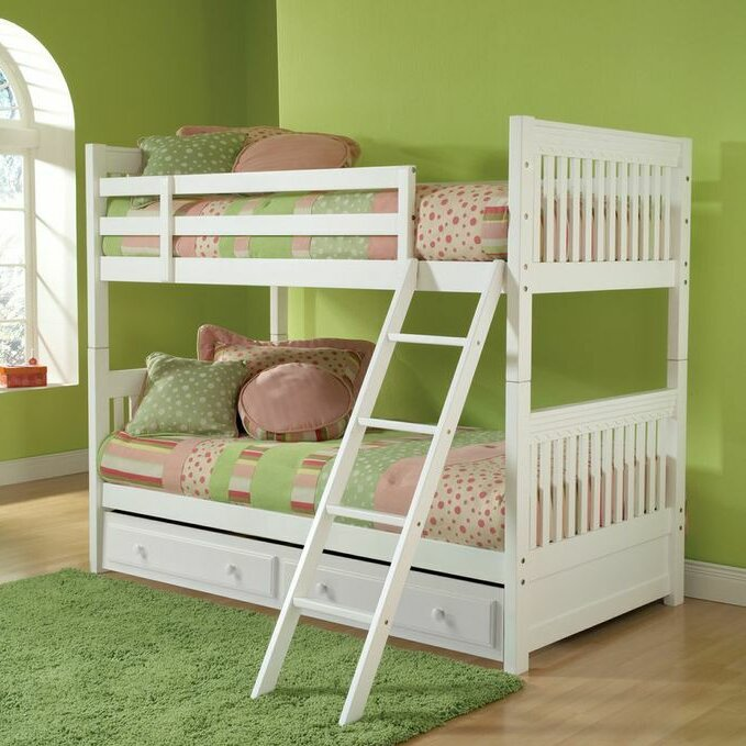 Viv Rae Portia Twin Over Twin Bunk Bed With Trundle Reviews
