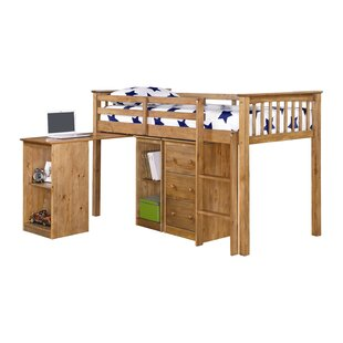 Milo Single Mid Sleeper Bed With Furniture Set By Just Kids