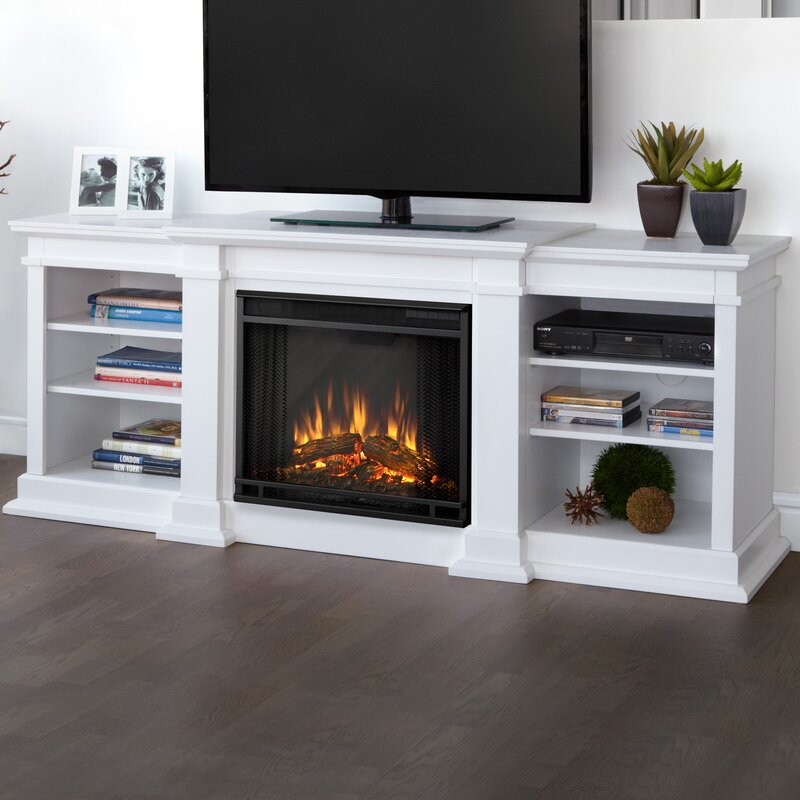 Fresno Entertainment Center For Tvs Up To 72 With Electric Fireplace