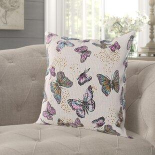 Hamlin Butterfly Pillow Cover (Set of 2)