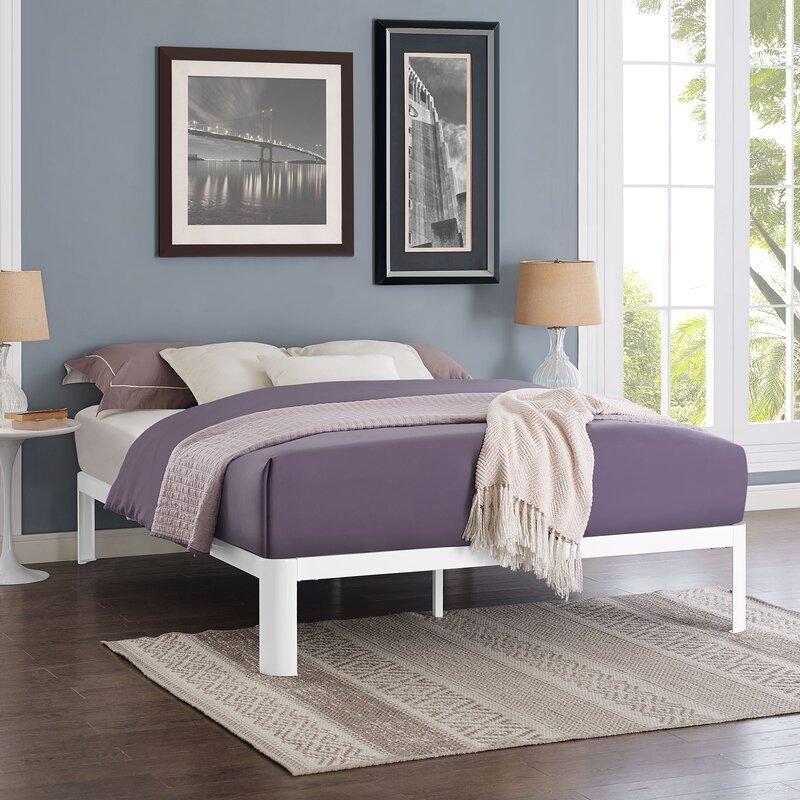 Alwyn Home Duarte Bed Frame Reviews Wayfair