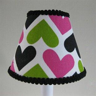 Wild Hearts 11 Fabric Empire Lamp Shade