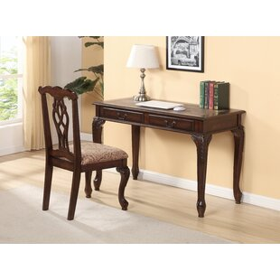 Charlton Home Tring Writing Desk and Chair Set