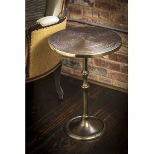 Reviews Suwanee Metal End Table By Charlton Home