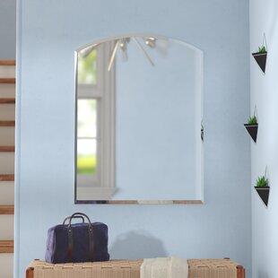 Best Deals Hanham Modern Wall Mirror ByWade Logan