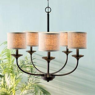 Birch Lane™ Kipling 5-Light Shaded Chandelier