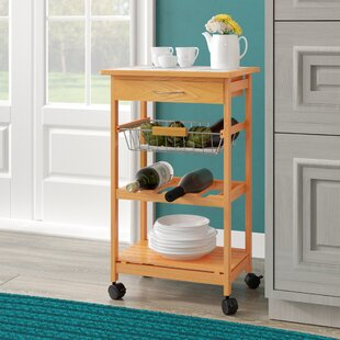 Cartee Kitchen Cart by Winston Porter
