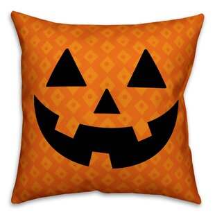 O'Lantern Throw Pillow