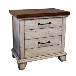 Affordable Onecre 2 Drawer Nightstand by August Grove