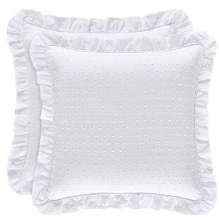 06197adab51 Fringe White Throw Pillows You ll Love