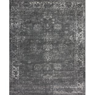 Compare Brandt Dark Grey Area Rug By Mistana