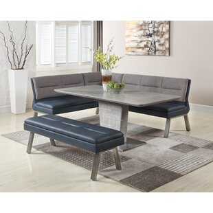Lefever 3 Piece Extendable Dining Set