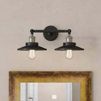Orren Ellis Dehaan 1 Light Dimmable Led Polished Chrome Vanity Light Wayfair