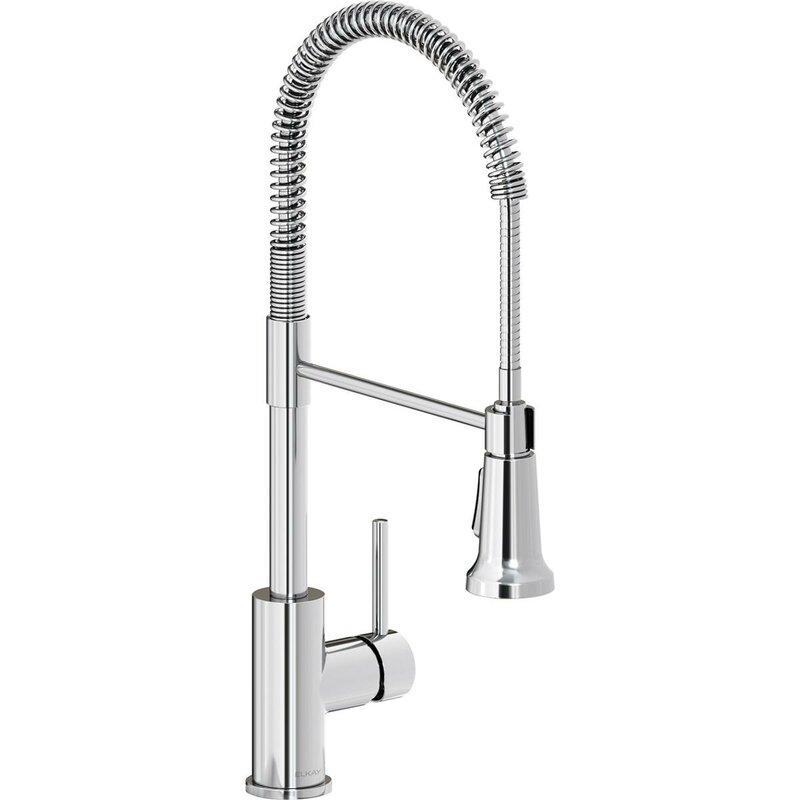 Elkay Avado Pull Down Single Handle Kitchen Faucet