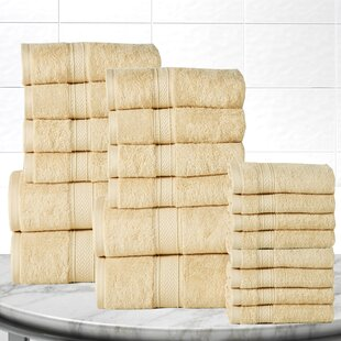 Gregoire Soft And Luxurious 20 Piece 100% Cotton Towel Set By The Twillery Co.