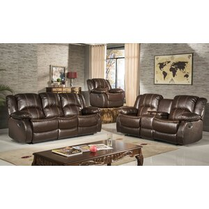 Okelley Reclining 2 Piece Living Room Set