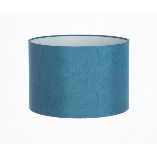 Zylinderförmiger Lampenschirm 17 Stories Farbe: Blaugrün| Größe: 23 cm H x 30 cm B x 30 cm T | Lampen > Lampenschirme und Füsse | 17 Stories