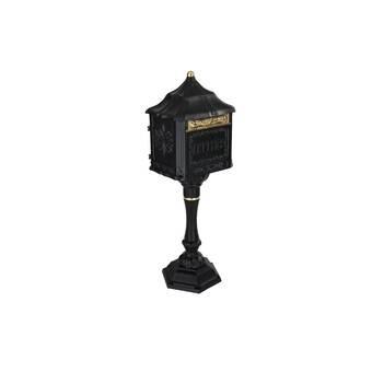 Qualarc Lewiston Locking Post Mounted Mailbox Wayfair