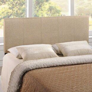 Comparison Joey Queen Upholstered Panel Headboard by Zipcode Design