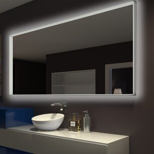 Bargain Chaitanya Illuminated Bathroom/Vanity Mirror By Everly Quinn