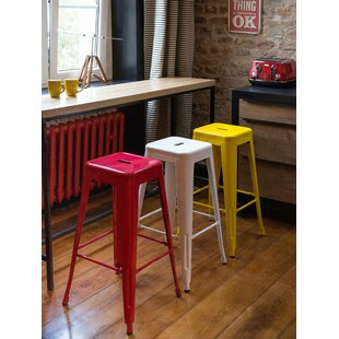 Byars Metal 29.9 Bar Stool (Set of 2) by Williston Forge
