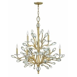 Willa Arlo Interiors Diandre 9-Light Candle Style Chandelier