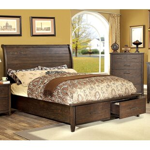 Milton Panel Bed by A&J Homes Studio Savings