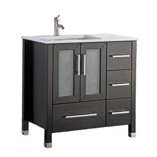 Left Side Sink Vanity 48 Wayfair