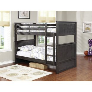 Ward Twin Over Twin Bunk Bed by Harriet Bee