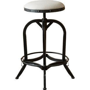 Trent Austin Design Mira Adjustable Height Swivel Bar Stool