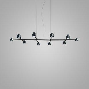 ZANEEN design Spider 10-Light Kitchen Isl..