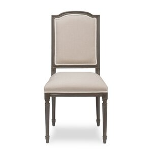 Louis Xvi Squared Upholstered Dining Chair by Sarreid Ltd